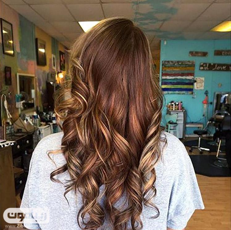 رنگ موی شکلاتی