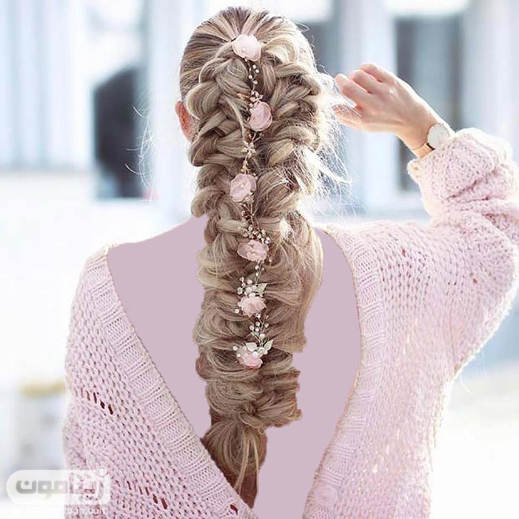 بافت مو زیبا و خاص