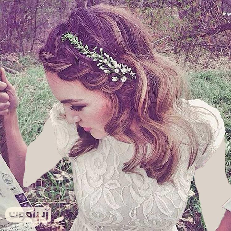 مدل لباس عروس شکوفه دار مدل موی کوتاه برای عروس - قسمت دوم | زیبامون