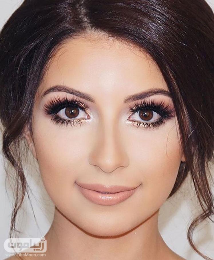 آرایش چشم زیبا و جذاب عروس