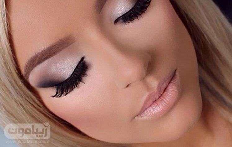 آرایش عروس با سایه چشم دودی