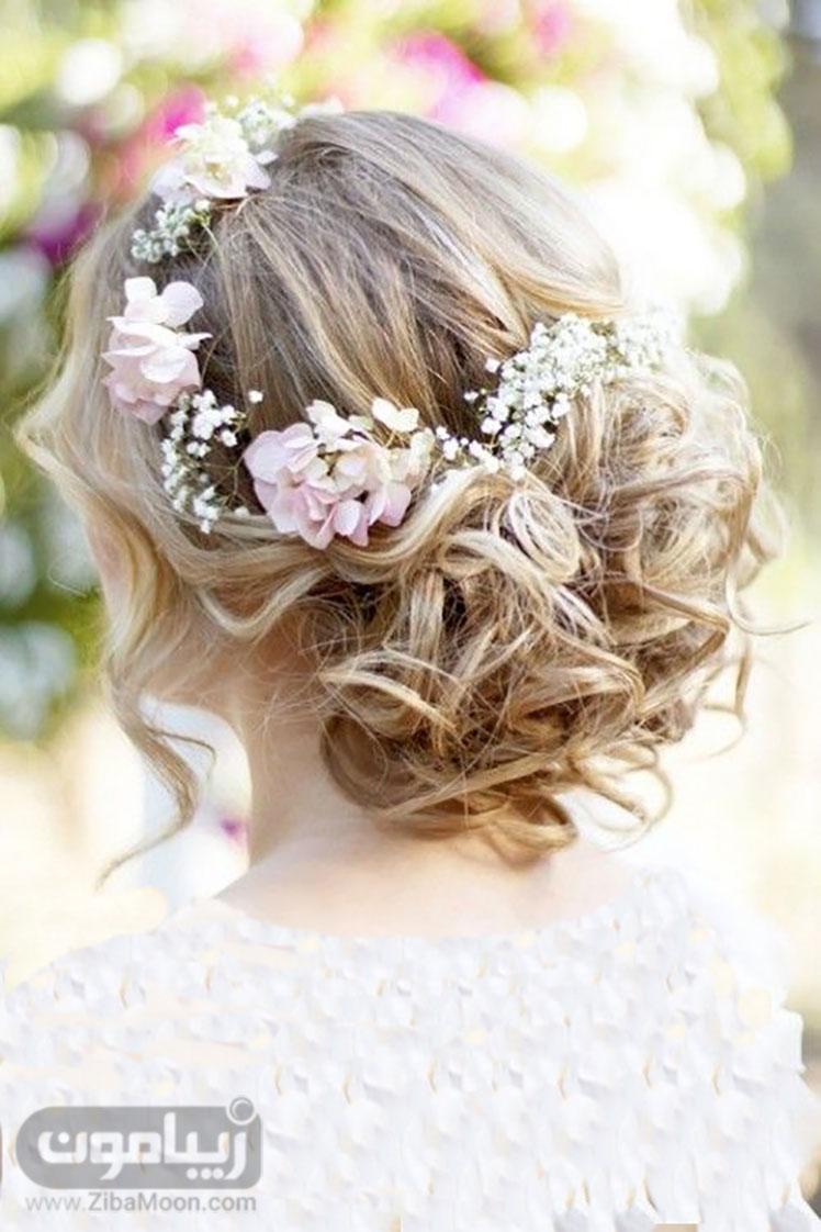 شینوین زیبا با گلهای بهاری