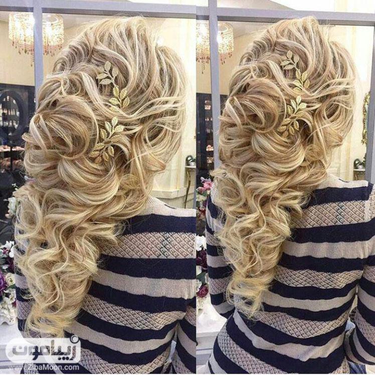 شینوین شیک دخترانه برای موهای بلند