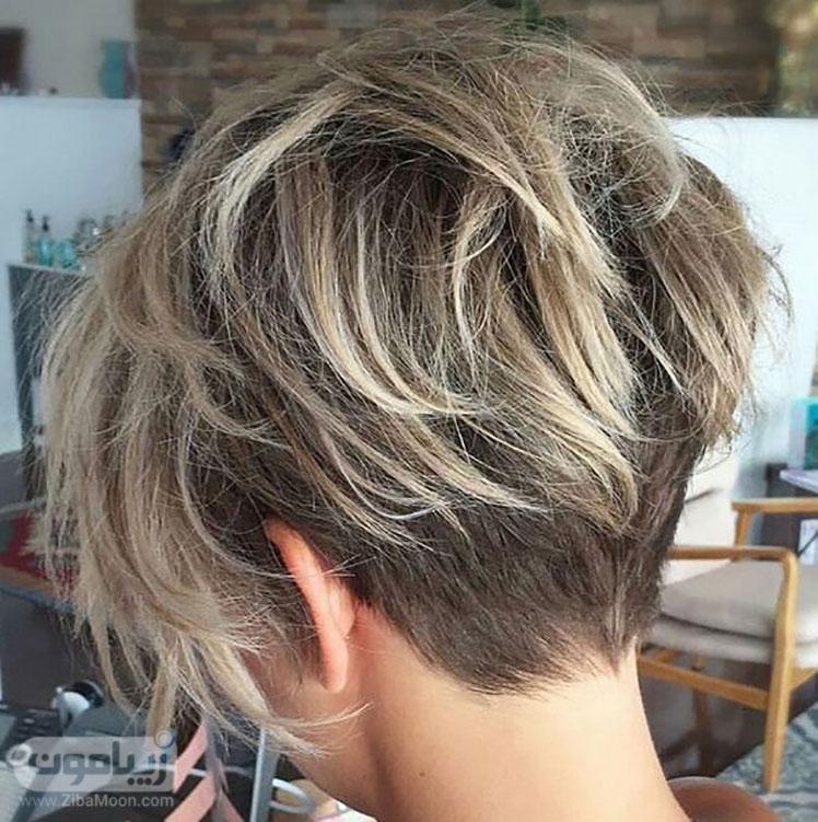 مدل موی قارچی و کوتاه دخترانه