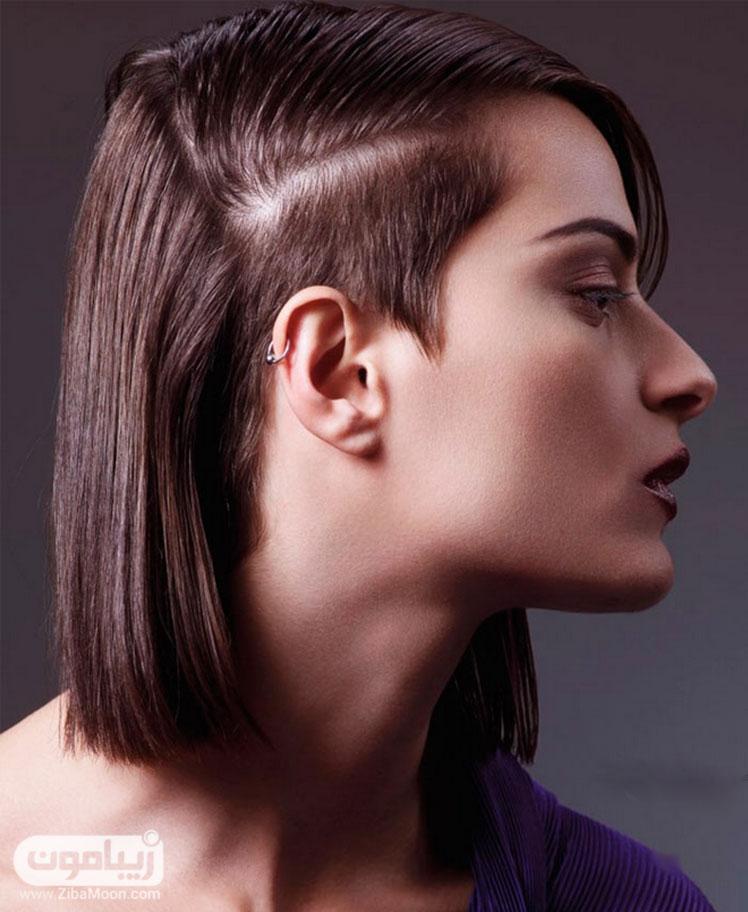 مدل موی کوتاه متفاوت و خاص زنانه