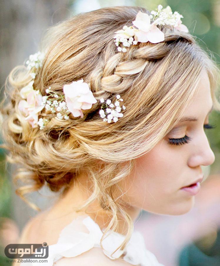 شینیون موی عروس هلندی