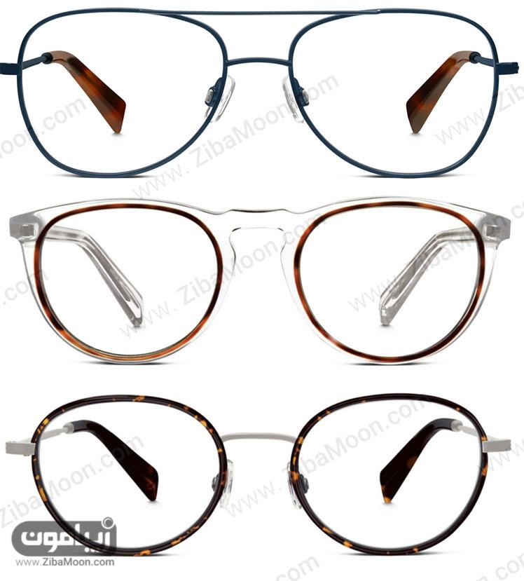 قاب عینک طبی مردانه