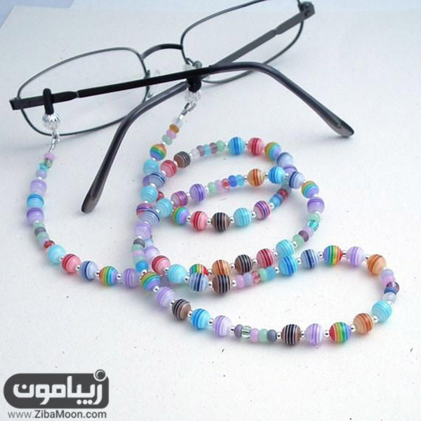 بند عینک خاص و رنگارنگ