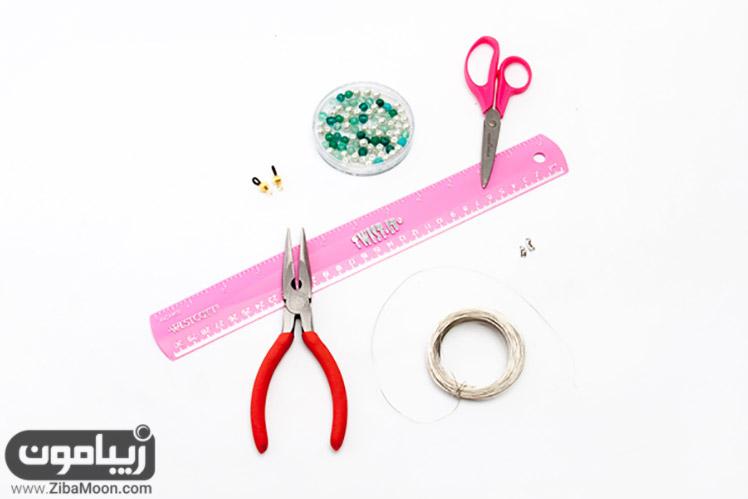 وسایل مورد نیاز ساخت بند عینک فانتزی