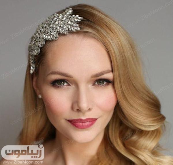 آرایش عروس ساده و کلاسیک