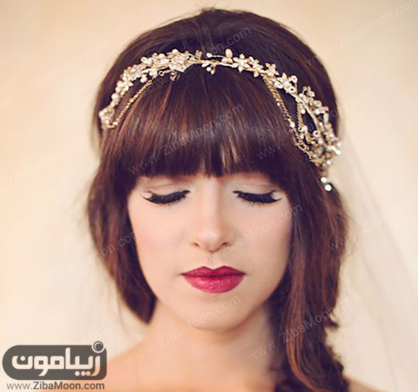میکاپ عروس بسیار زیبا و جذاب