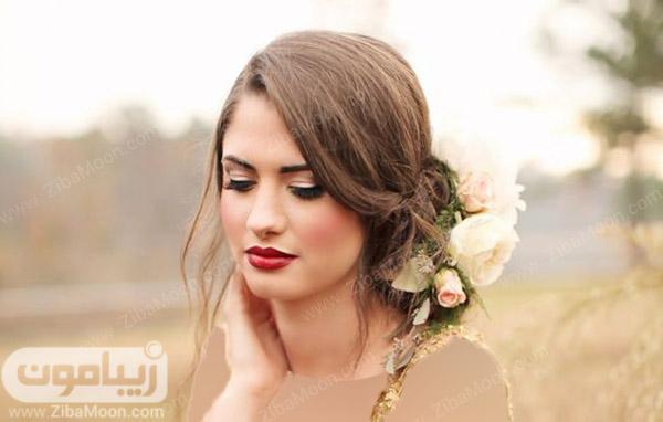 آرایش عروس پاییزی