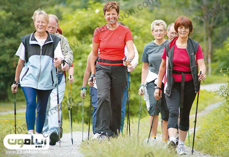 سلامتی با پیاده روی
