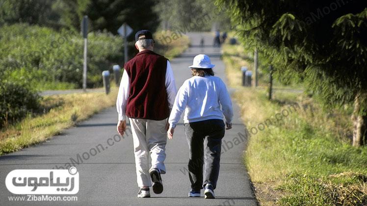 سلامت مغز با پیاده روی