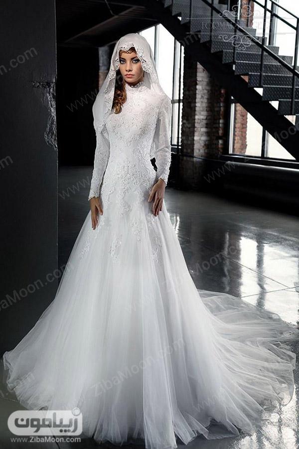 لباس عروس پری دریایی و پوشیده