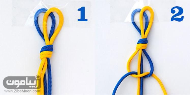 آماده کردن نخ کاموا برای بافت دستبند