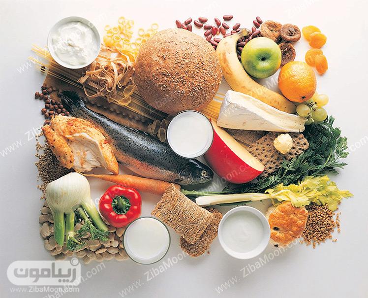 انواع مواد غذایی سالم و مفید