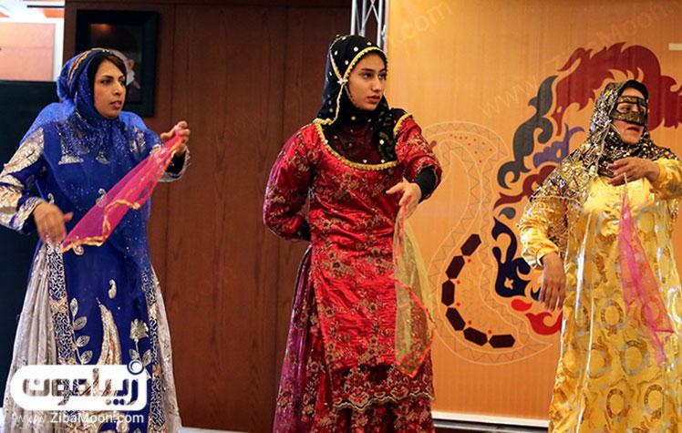 زیبایی لباس عشایر شیراز