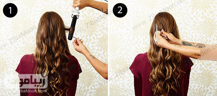 اتو کشیدن مو
