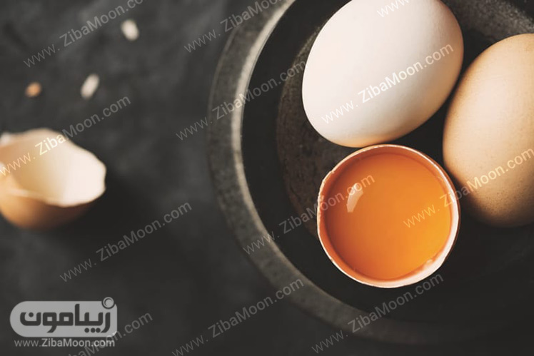 تخم مرغ زرده طلا