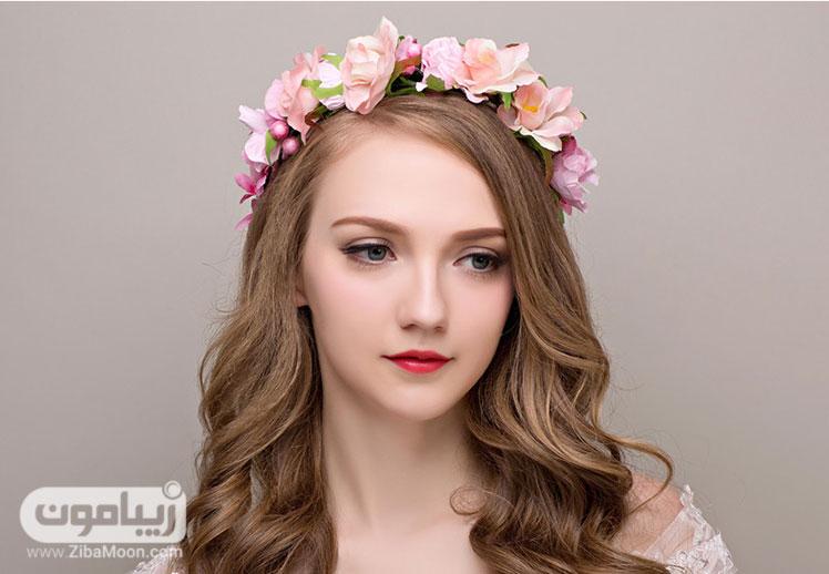 تاج گل عروس - زیباترین مدل های تاج عروس 2017