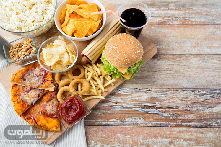 غذاهای چرب و کبد چرب