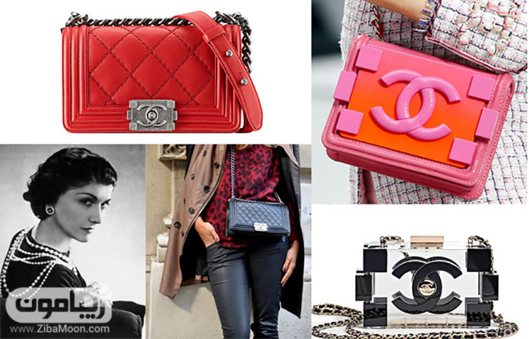 کیف زنانه از برند chanel