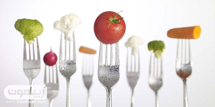 مواد غذایی سالم و خوشمزه