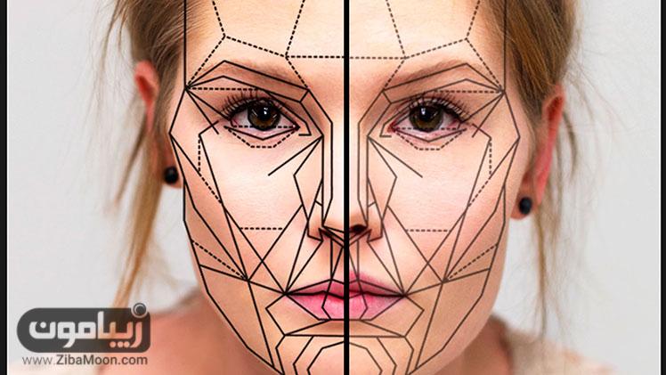 آنالیز چهره و تغییر زوایای صورت