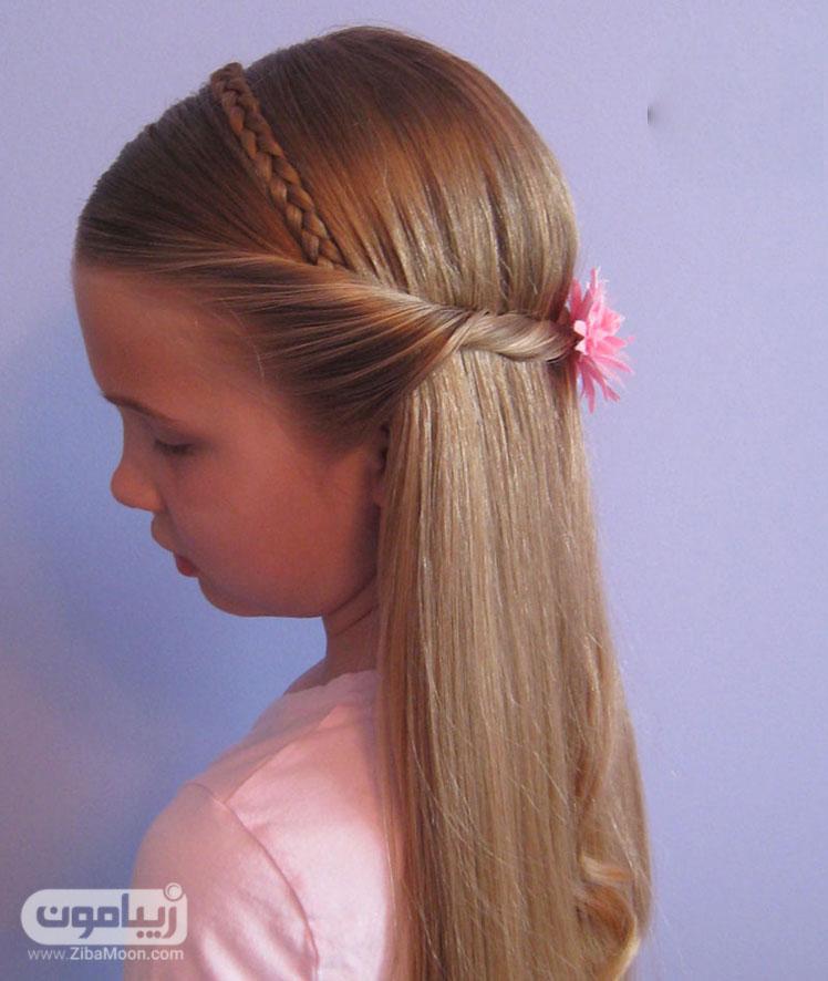 عکس مدل مو دخترانه مجلسی