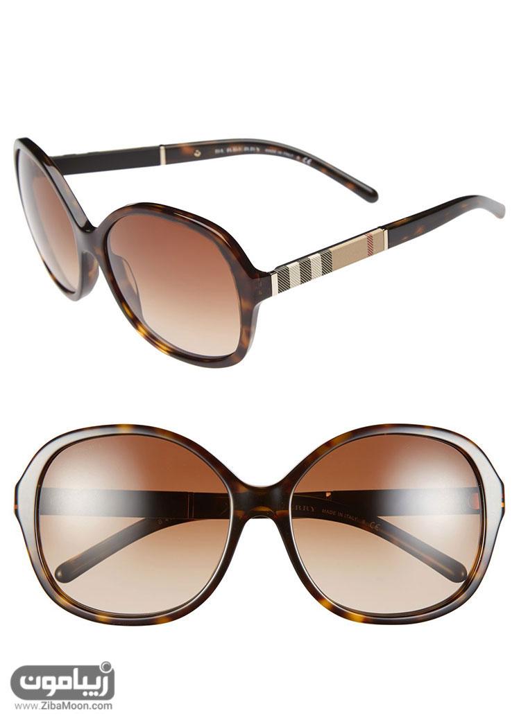 عینک آفتابی با دسته طرح بربری