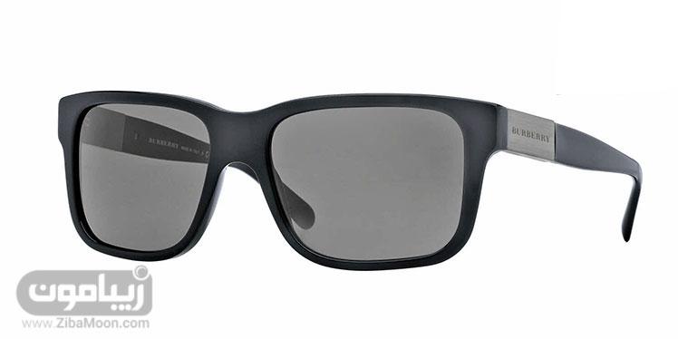 عینک آفتابی ساده مشکی