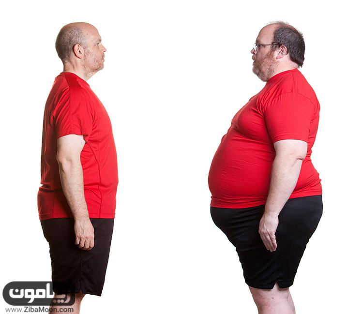 کاهش وزن سریع نداشته باشید