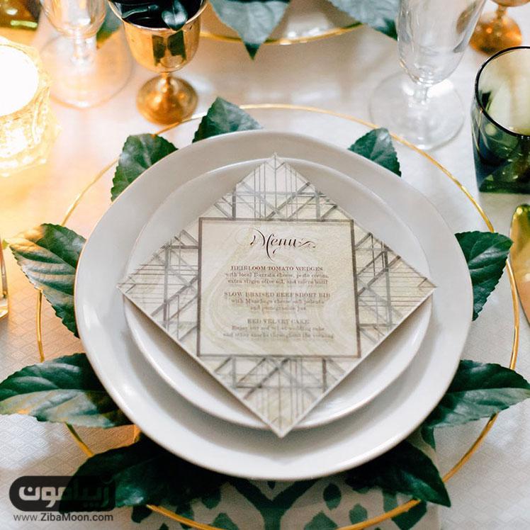 تزئینات میز عقد و عروسی