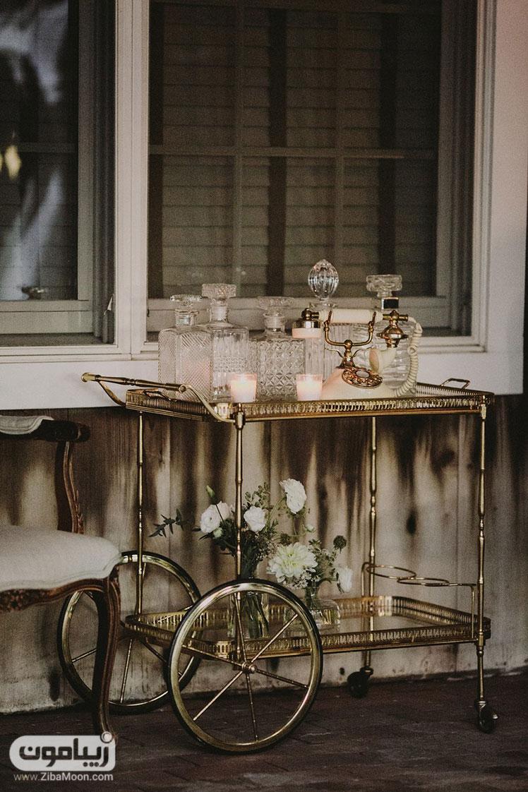 تزیینات کلاسیک و شیک میز عقد و عروسی