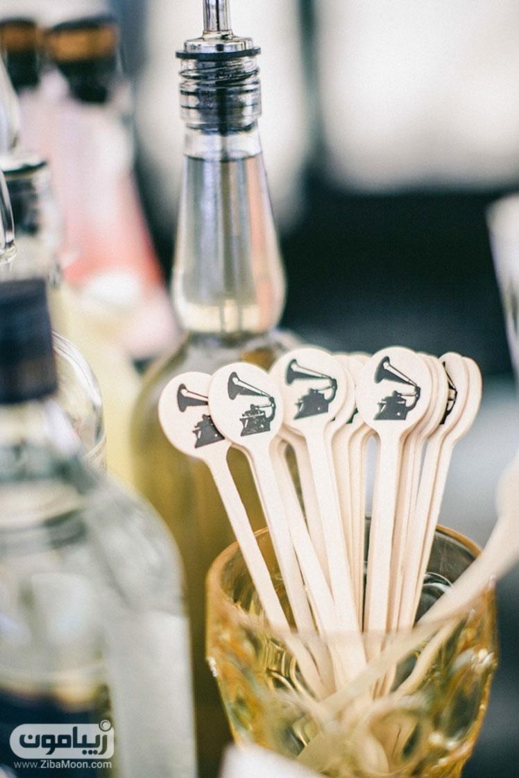 قاشق میز عروسی