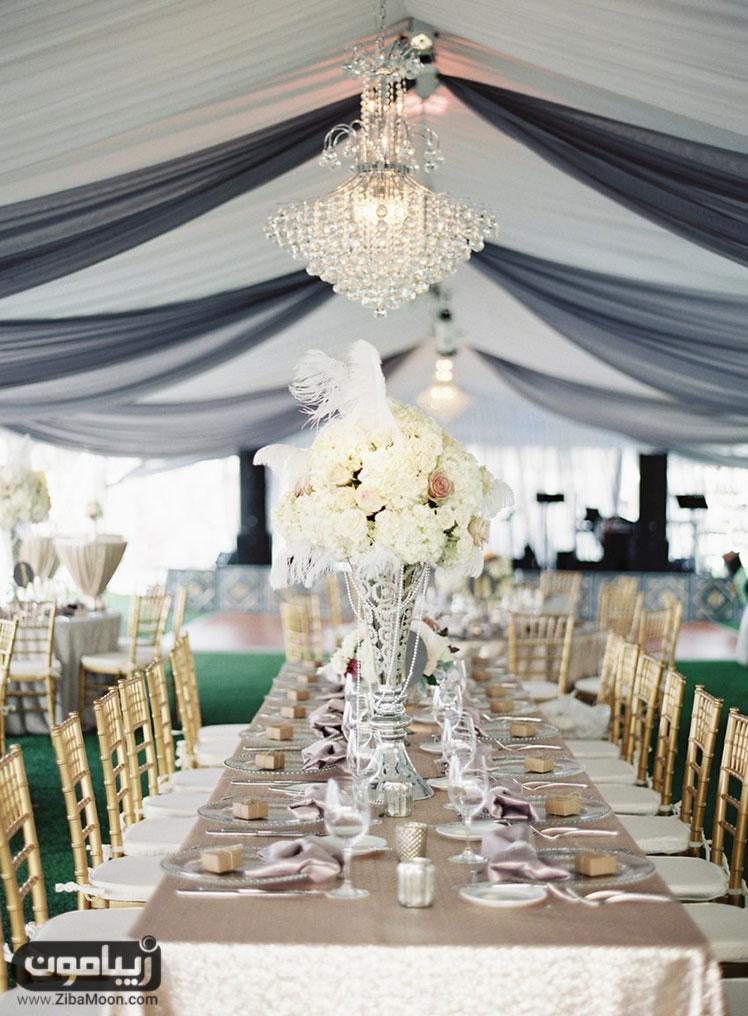 میز مجلل شام عروسی