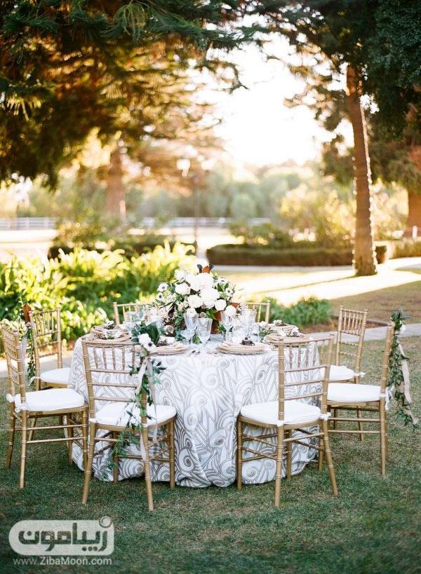میز و صندلی عروسی