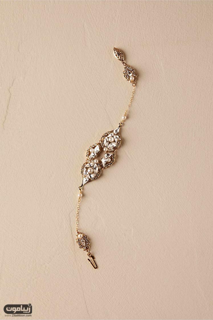 دستبند کلاسیک عروس