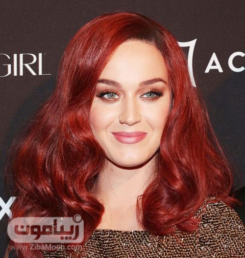 رنگ موی قرمز بورگاندی روشن