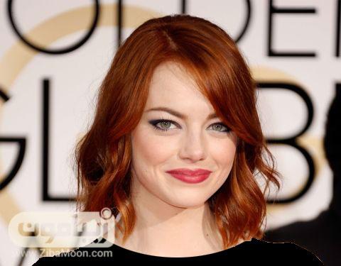 رنگ موی قرمز تیره  دارچینی