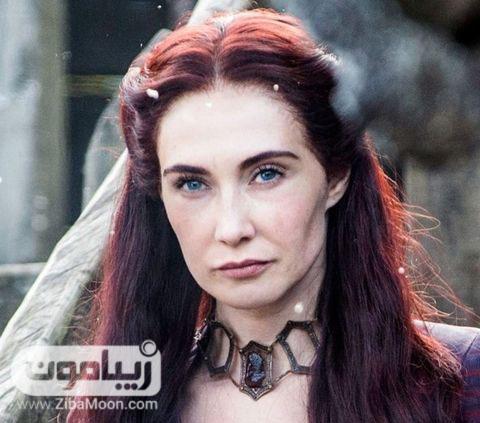 رنگ موی قرمز بورگاندی
