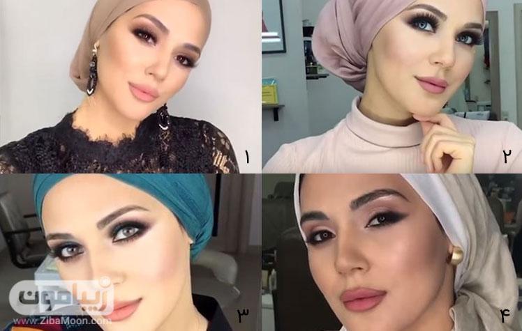 ارایش عروس ایرانی