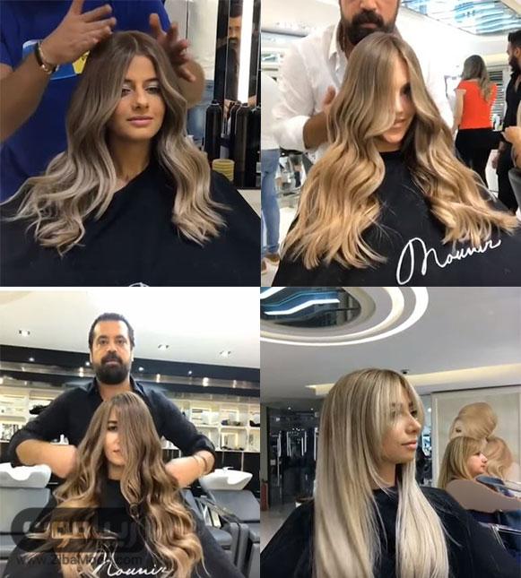 مدل رنگ مو جدید 2017