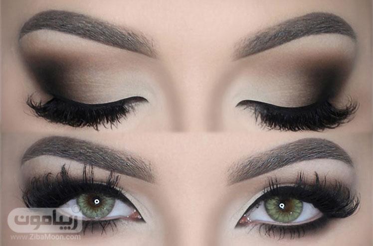 مدل آرایش زیبا چشم