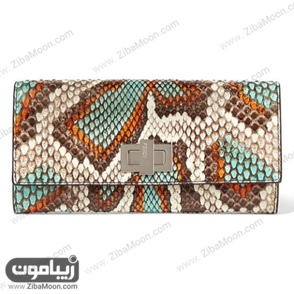کیف پول زنانه از برندFendi