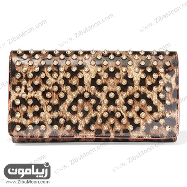 کیف پول زنانه از برندChristian Louboutin