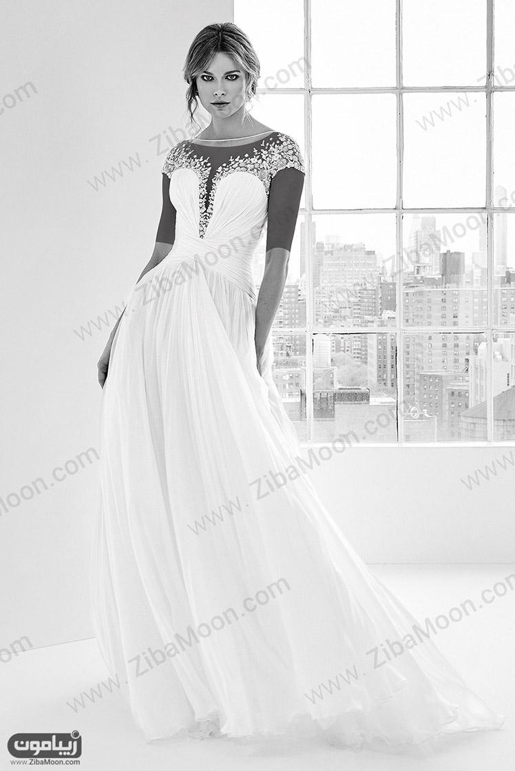 مدل لباس عروس زهیر مراد مدل لباس عروس 2018 جدید و خاص از طراحی های زهیر مراد | زیبامون