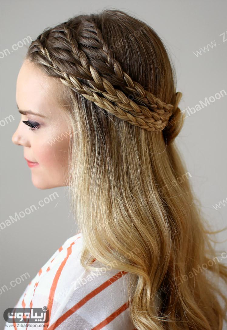 جدیدترین مدل مو های بلند دخترانه