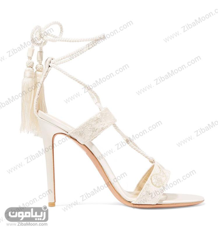 کفش عروس بنددار و شیک